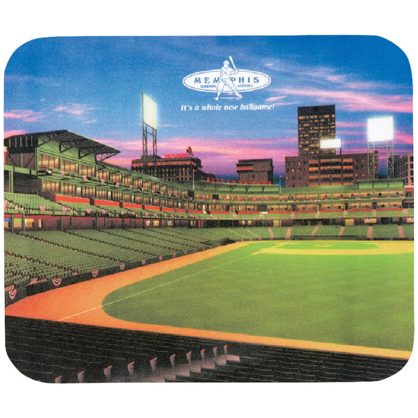 "8"" x 9-1/2"" x 1/16"" Full Color Hard Mouse Pad"