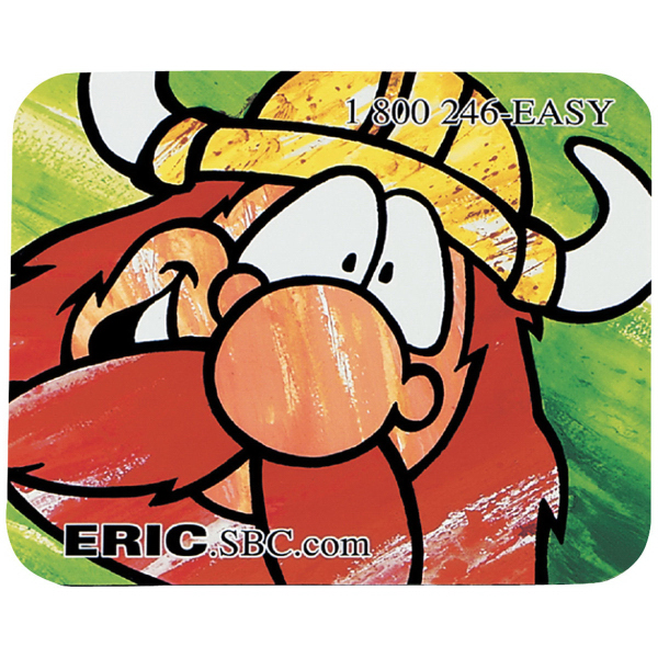 "8"" x 9-1/2"" x 1/16"" Full Color Soft Mouse Pad"