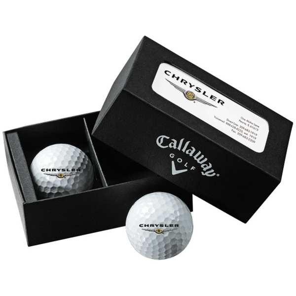 Callaway 2-Ball Business Card Box w/ HexWarbird