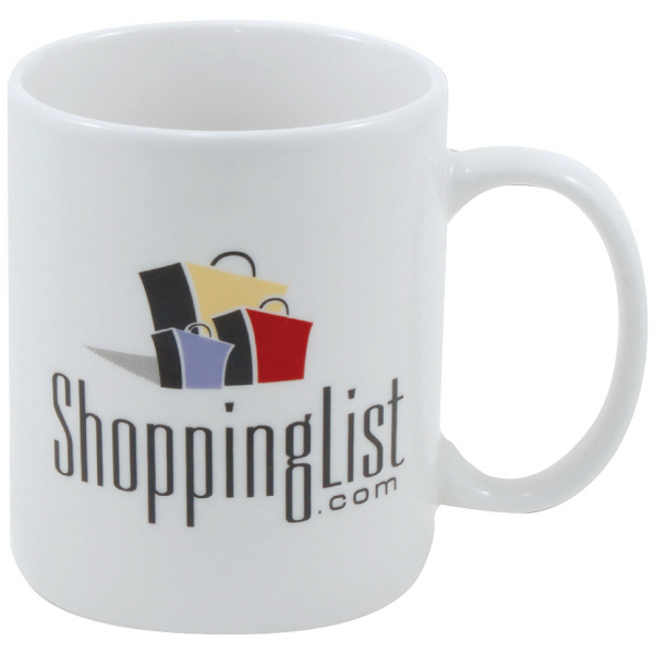 Decal Fine Porcelain Diplomat Mug - 11 oz