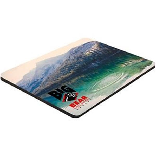 "Full Color Soft Mouse Pad - 6"" x 8"" x 1/16"""
