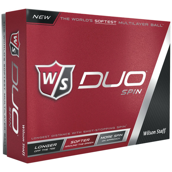 Wilson Staff Duo Spin Golf Ball