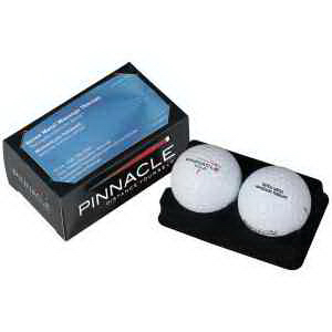 Pinnacle (R) Gold 2 ball business card box