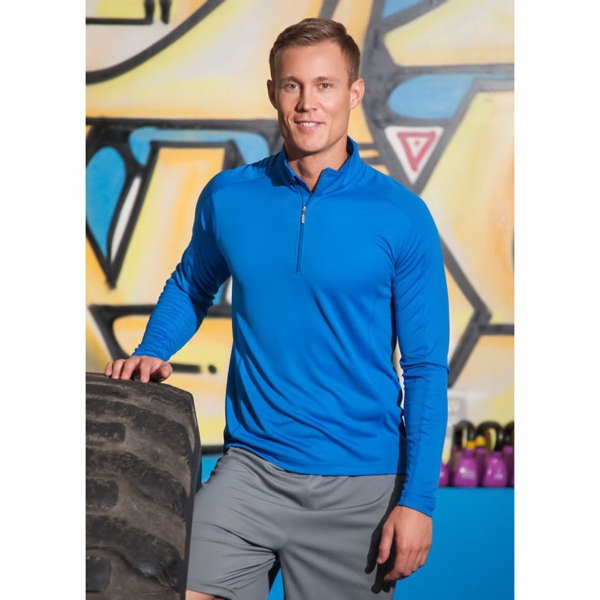 Men's Boston Syntrel (TM) Interlock Quarter Zip