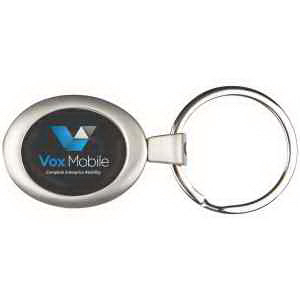PhotoVision Premium Oval Key Ring