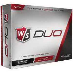 Wilson Staff (R) Duo Golf Ball