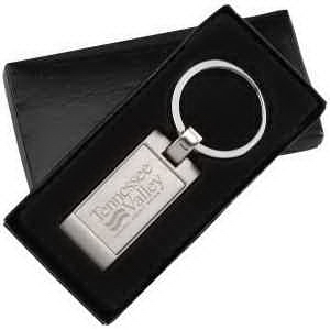 Modern metal key ring