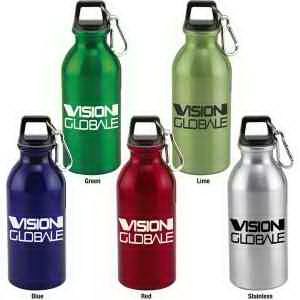 Wide mouth 20 oz. aluminum bottle