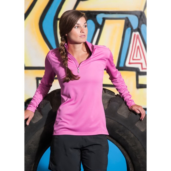 Women's Boston Syntrel (TM) Interlock Quarter Zip
