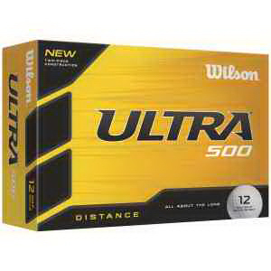 Wilson Ultra 500 Factory Direct Golf Ball