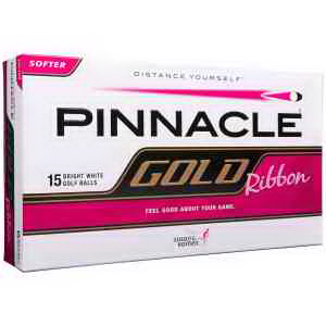 Pinnacle (R) Gold Ribbon 15 Golf Ball box