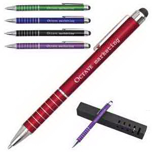 IWrite Chic Aluminum Pen with Touch Screen Stylus