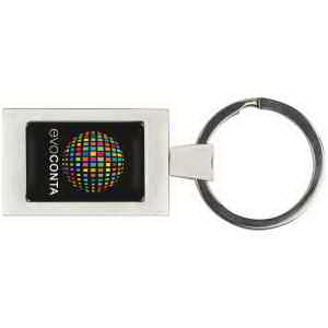 PhotoVision Premium Rectangular Key Ring