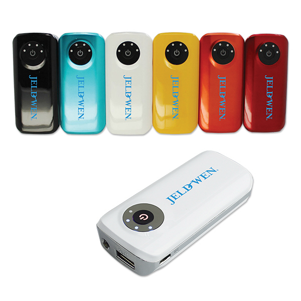 Rechargeable 4,400mAh Power Pack Power Bank Full Color