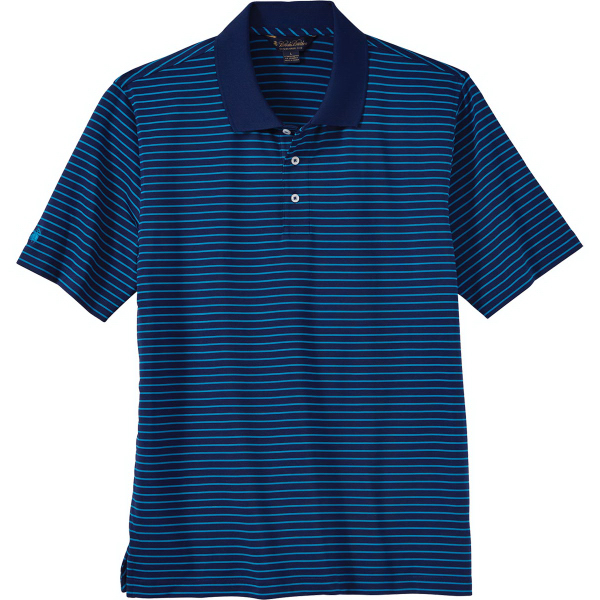 Brooks Brothers Men's Performance Fine Stripe Jersey Polo