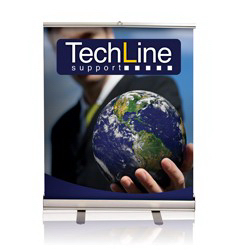 "Tabletop Retractable Banner Stand 33""X36"""