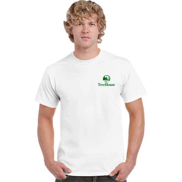 Gildan Ultra Cotton Classic Fit Adult T-Shirt 6 oz. - White