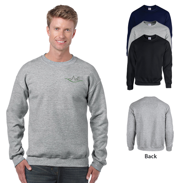 Gildan Heavy Blend Adult Crewneck Sweatshirt 8 oz - Colors