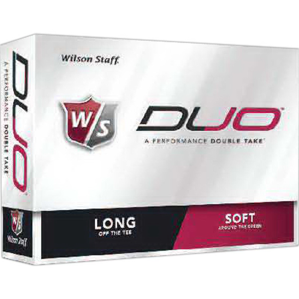 Wilson (R) Staff Duo Golf Balls