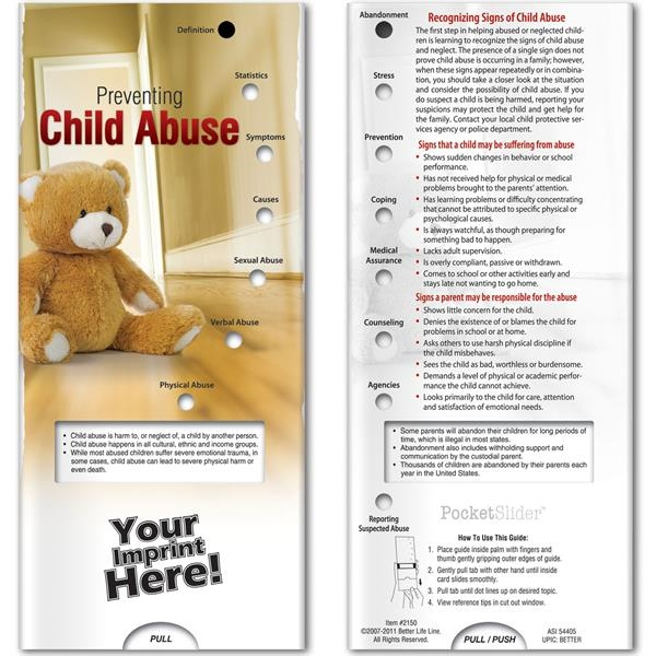 Pocket Slider - Preventing Child Abuse
