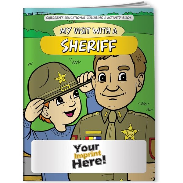 Coloring Book - My Visit with a Sheriff