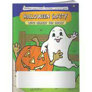Coloring Book - Halloween Safety with Gilbert the Ghost