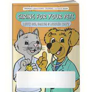 Coloring Book - Caring For Your Pets with Dr. Dawg and Nurse