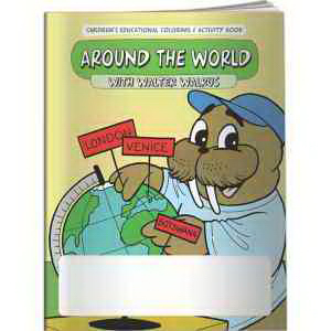 Coloring Book - Around the World with Walter Walrus