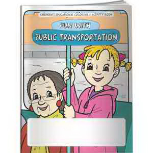 Coloring Book - Fun With Public Transportation