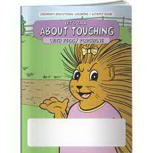 Coloring Book - Let's Talk About Touching with Peggy Porcupi