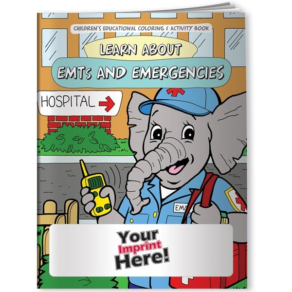Coloring Book - Learn About EMTs and Emergencies