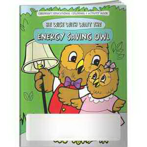 Coloring Book - Be Wise with Watt the Energy Saving Owl