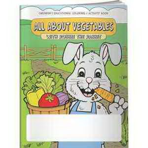Coloring Book - All About Vegetables with Robbie Rabbit
