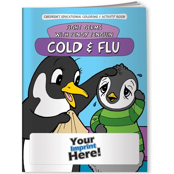 Coloring Book - Cold and Flu: Fight Germs with Pengy Penguin