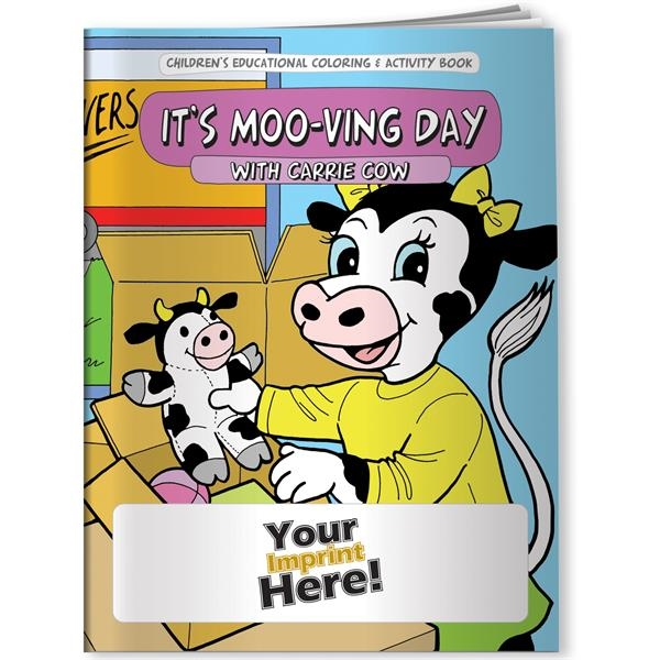 Coloring Book - It's Moo-ving Day with Carrie Cow