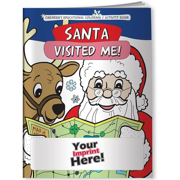 Coloring Book - Santa Visited Me!