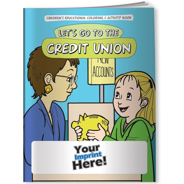 Coloring Book - Let's Go to the Credit Union