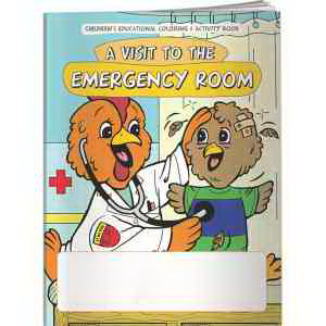 Coloring Book - A Visit to the Emergency Room