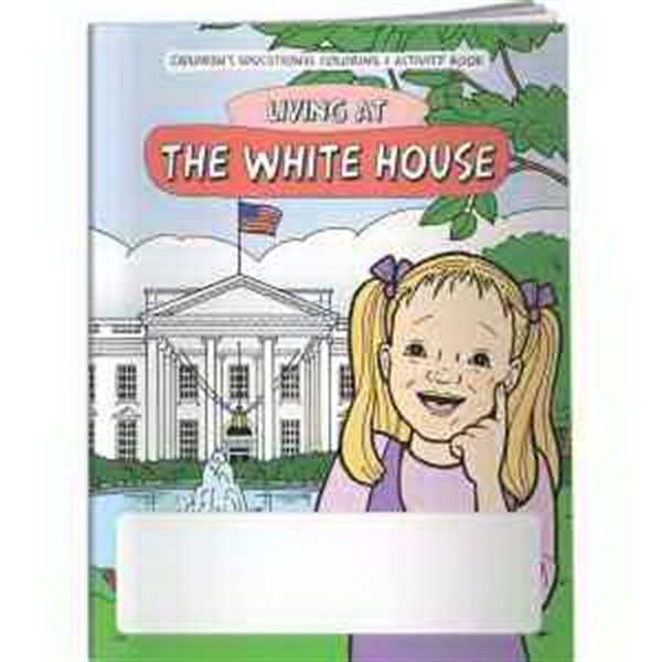 Coloring Book - Living at The White House