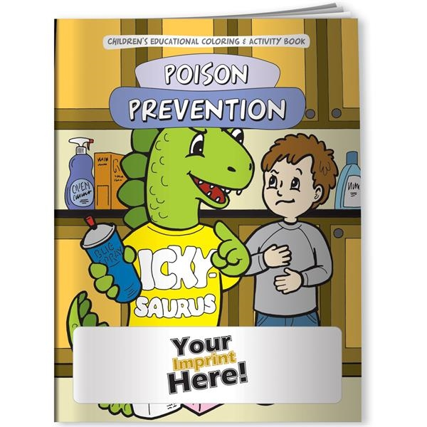 Coloring Book - The Poison Prevention Dinosaur