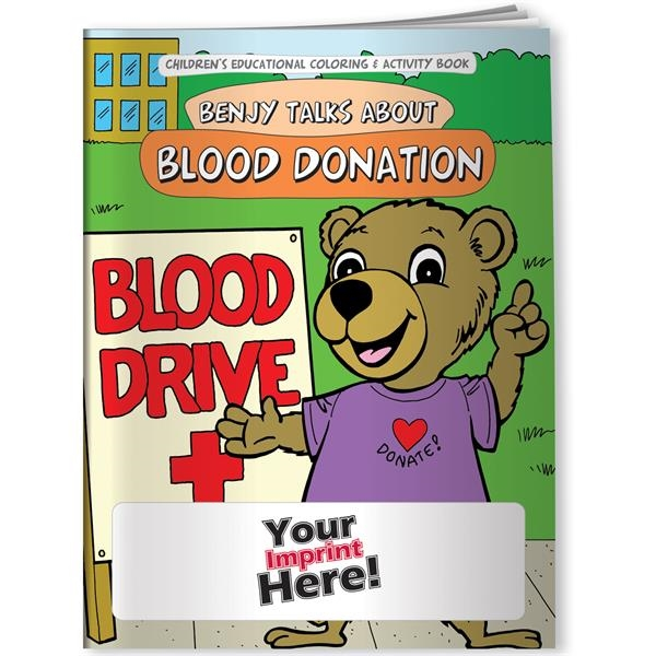 Coloring Book - Benjy Talks About Blood Donation