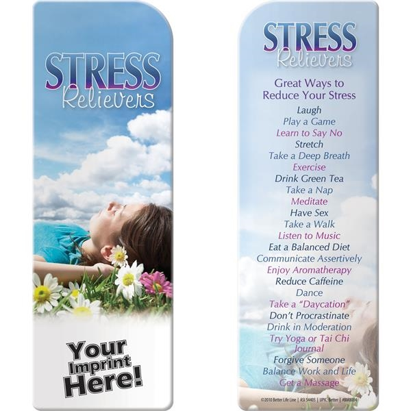 Bookmark - Stress Relievers