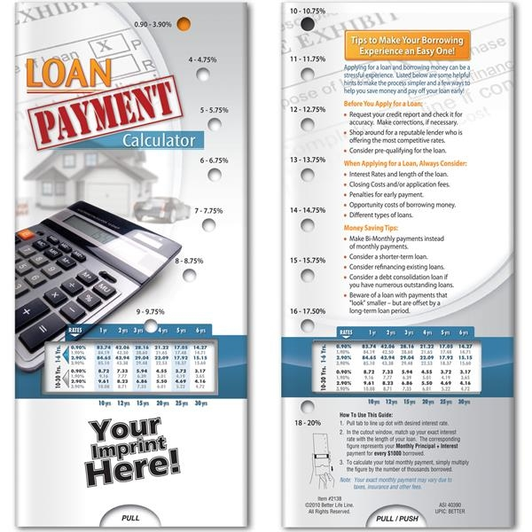 Pocket Slider - Loan Payment Calculator