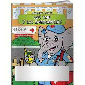 Coloring Book - Learn About EMTs and Emergencies (Spanish)