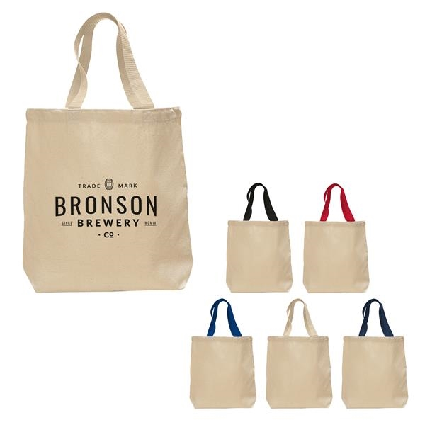 Tote with Bottom Gusset