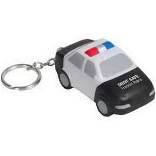 Police Car Key Chain Stress Reliever