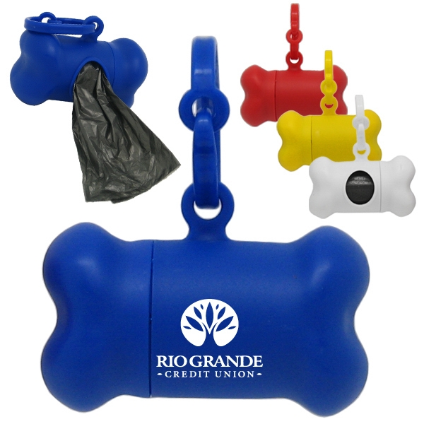 Dog Bone Bag Dispenser
