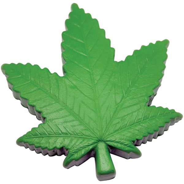 Cannabis Leaf Squeezie (R) Stress Reliever