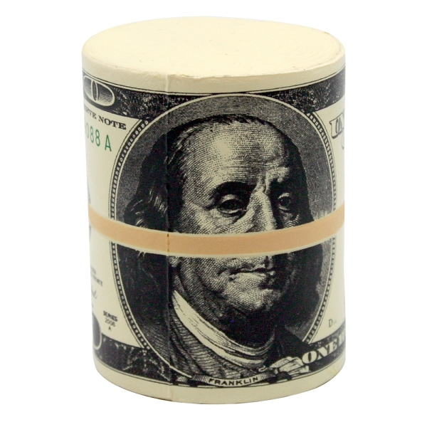 Money Wad Squeezie (R) Stress Reliever