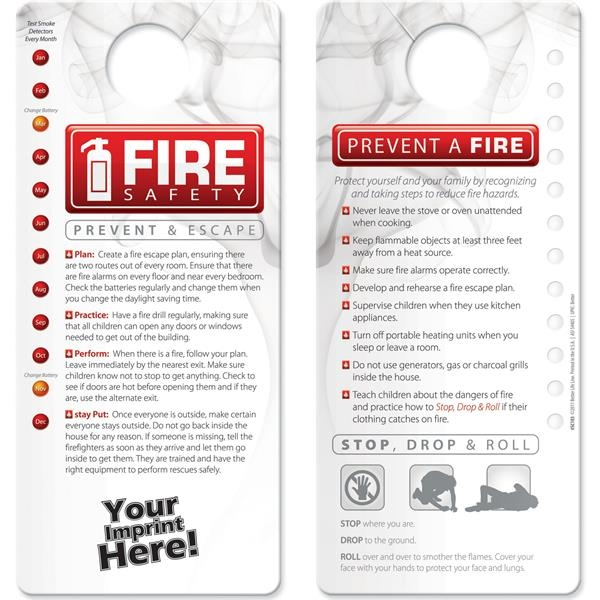 Shower Card - Fire Safety